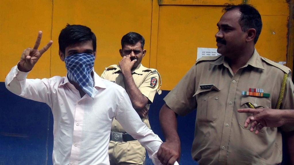 Ankur Narayanlal Panwar, who was awarded the death penalty by a Mumbai court for throwing  acid at Preeti  Rathi in 2013 in Mumbai on 8 September 2016. (Photo: IANS)