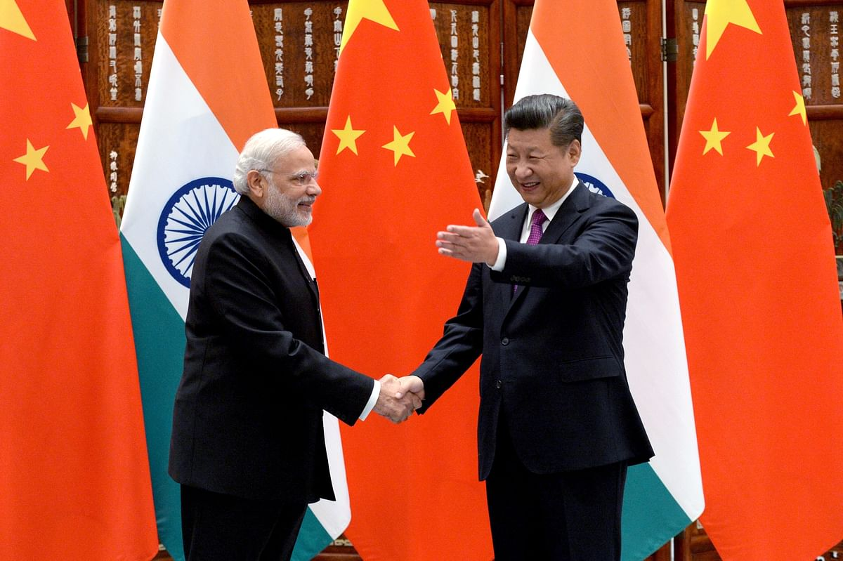 China is willing to work with India to maintain their hard-won sound relations and further advance their cooperation,said  Xi. (Photo: AP)