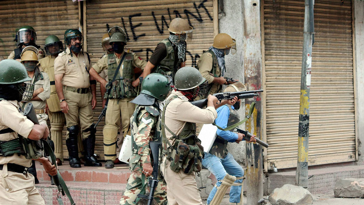 No casualties have been reported in the exchange of fire between the forces and the militants.(Photo: PTI)