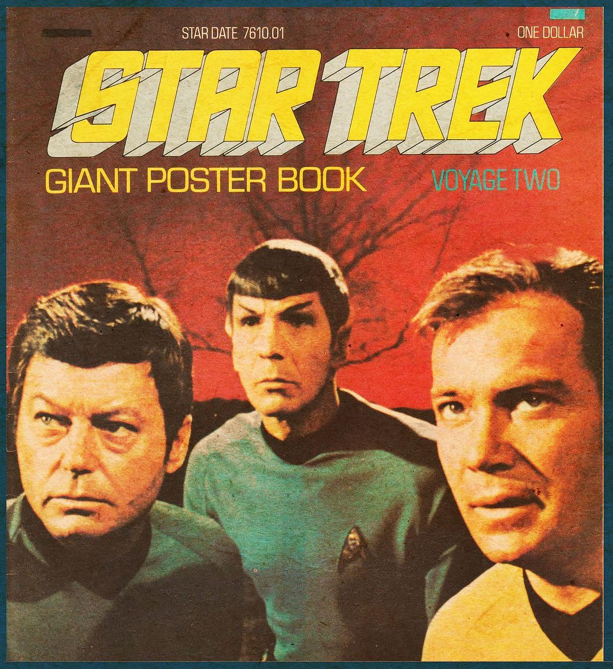 The original poster of <i>Star Trek</i>.&nbsp;