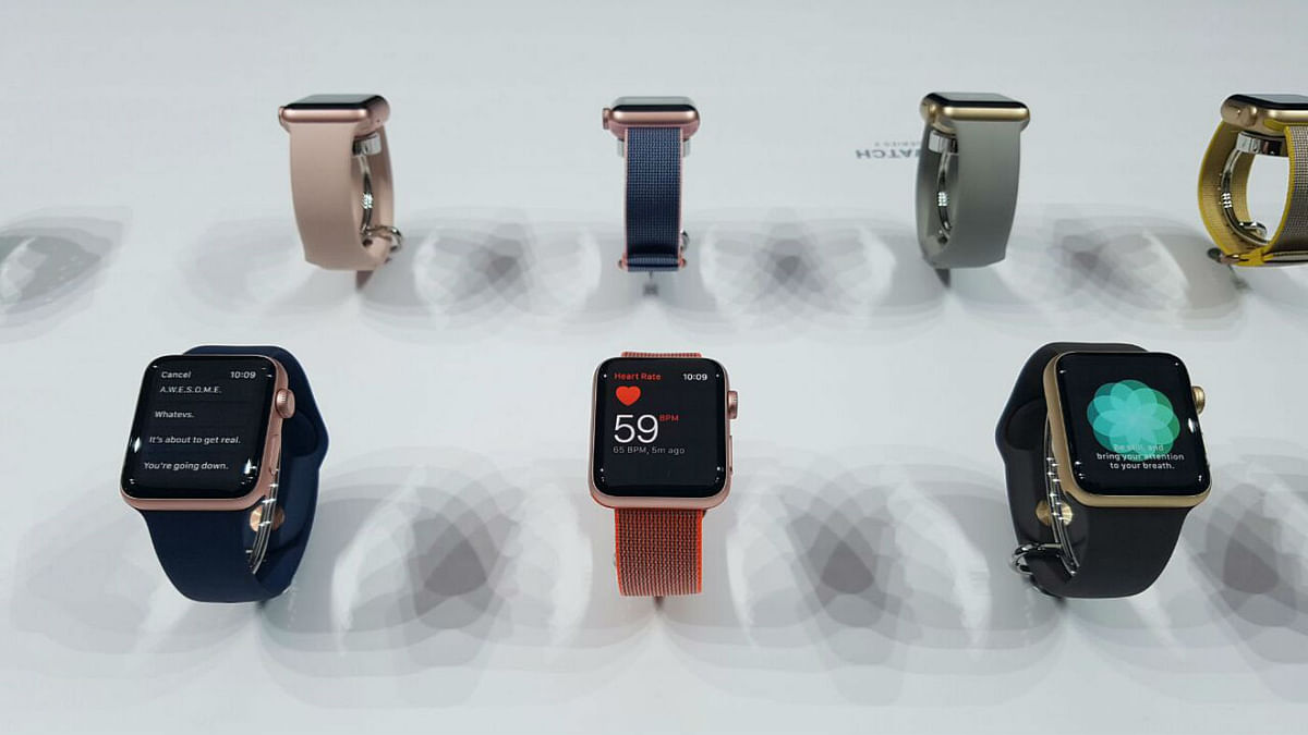 Apple Watch Series 2 is what Apple calls them in 2016. (Photo: <b>The Quint</b>)