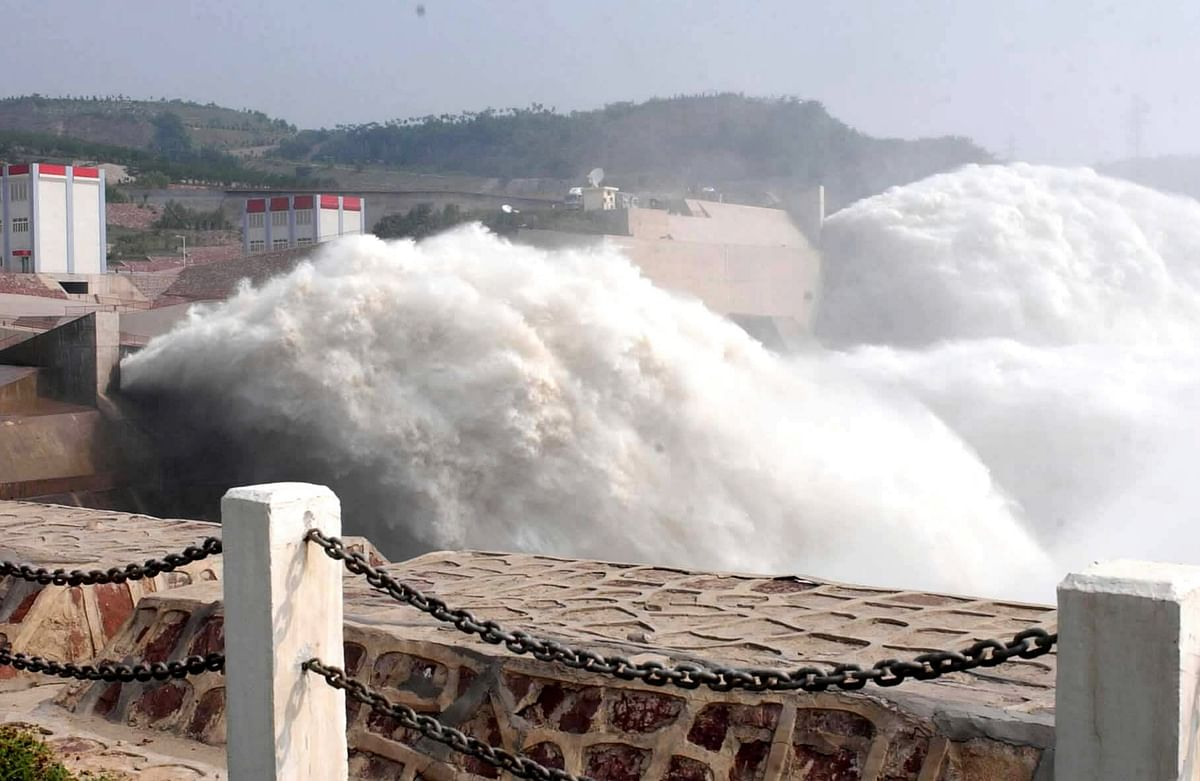 A dam in Henan province, China. (Photo: iStock)