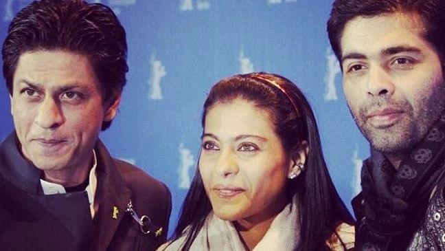 "Shah Rukh Khan, Kajol and Karan Johar promoting their film <i>My Name is Khan</i>. (Photo Courtesy: <a href=""https://www.instagram.com/p/wOQKY9o32J/?taken-by=karanjohar"">Instagram/KaranJohar</a>)"