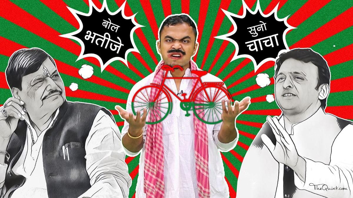 The Samajwadi Pari-war is so confusing. (Photo: <b>The Quint</b>/Rahul Gupta)