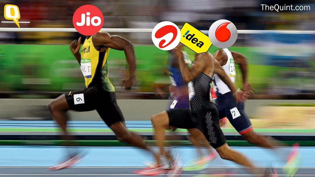 Jio is a possible monopoly in the making. (Photo: <b>The Quint</b>)