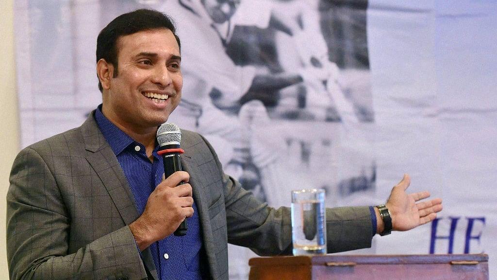 VVS Laxman during an event in Mumbai.