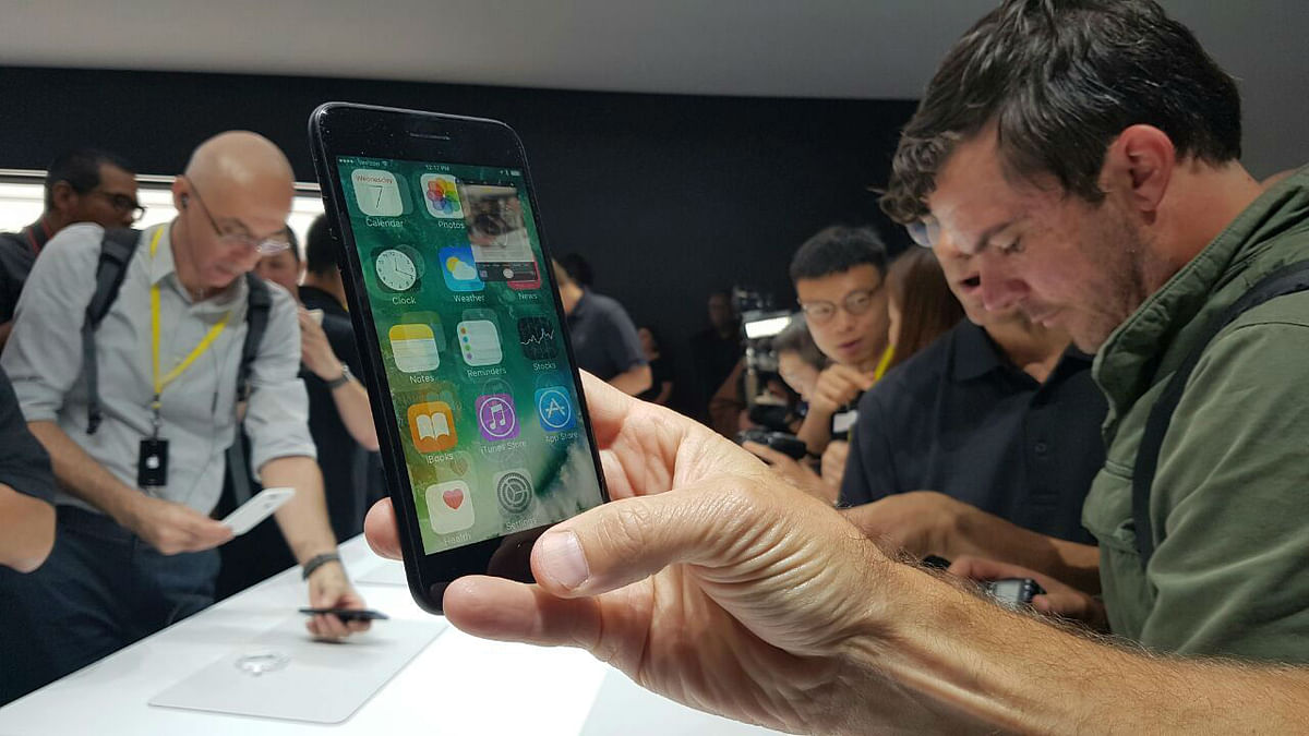 Apple iPhone 7 was launched amid worldwide fanfare. (Photo: <b>The Quint</b>)