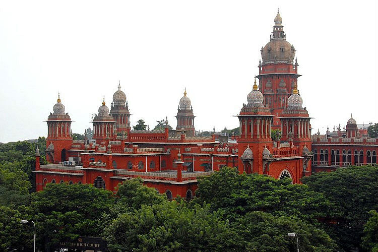 The Madras High Court passed the ruling on Wednesday. (Photo Courtesy: The News Minute)