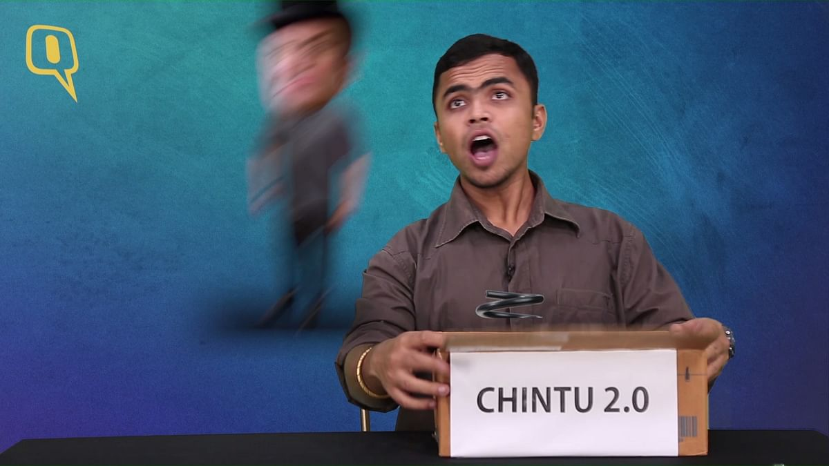 Chintu is quite a Jack in the box. (Photo: The Quint)