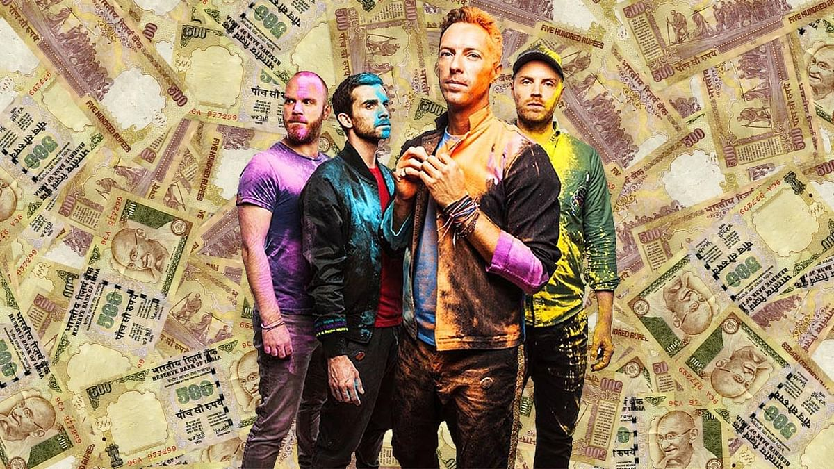 Are you rich enough to attend the Coldplay concert? (Photo: <b>The Quint</b>)