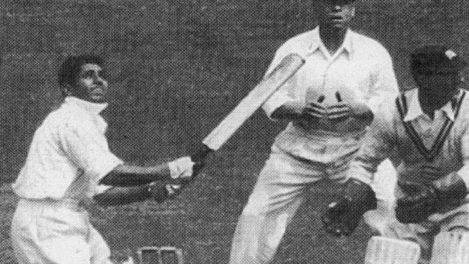 """Lala Amarnath scored India's first Test century in the second innings of the first Test against England in 1933. (Photo Courtesy: Twitter/<a href=""""https://twitter.com/SkvermaSur"""">Surendra</a>)"""