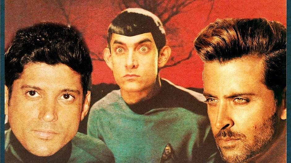 Aamir Khan, Farhan Akhtar and Hrithik Roshan  will be the right choice for the Indian remake of <i>Star Trek</i>. (Photo: Veeru Krishan Mohan/<b>The Quint</b>)
