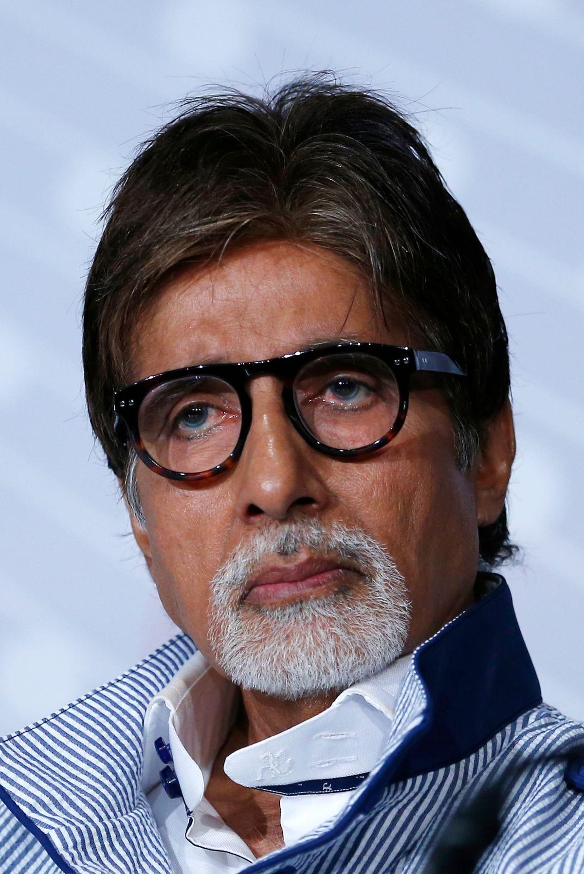 Amitabh Bachchan. (Photo: Reuters)