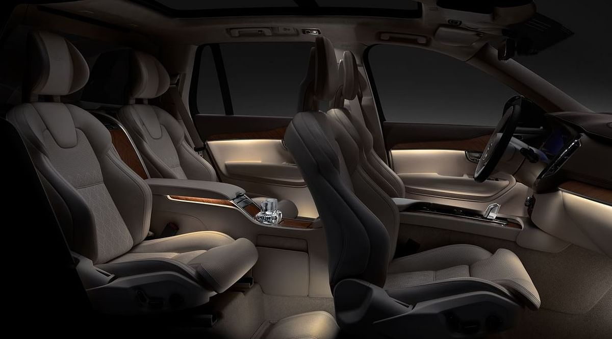The SUV also has a built-in massage function.