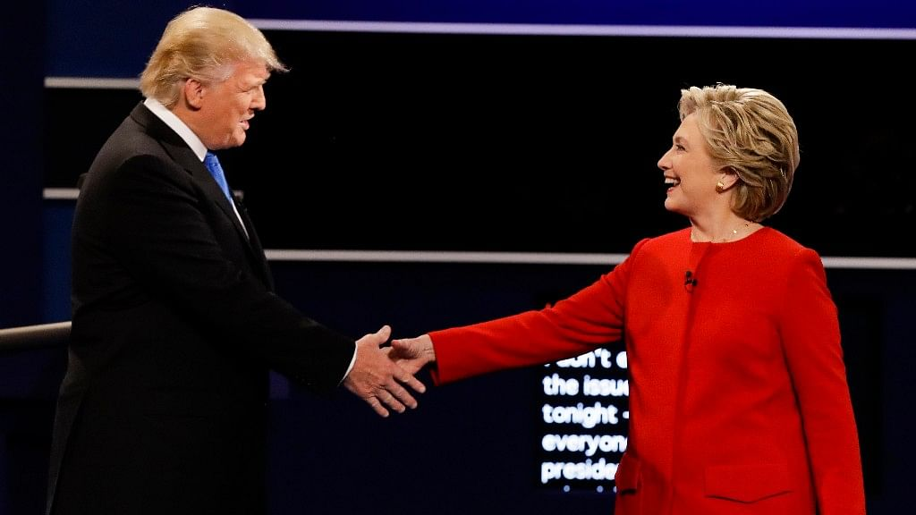 While Clinton had to come prepared by facts, Trump just had to not come across as an uninformed troll. (Photo: AP)