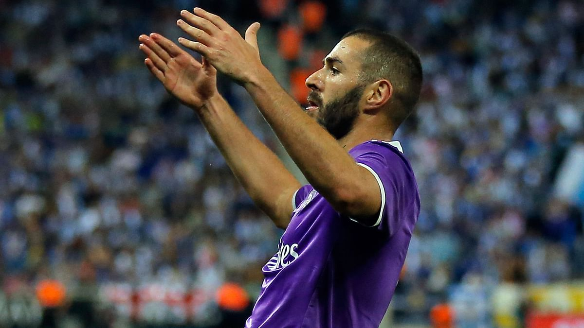 Real Madrid's Karim Benzema has been jeered by Madrid supporters in the previous games.