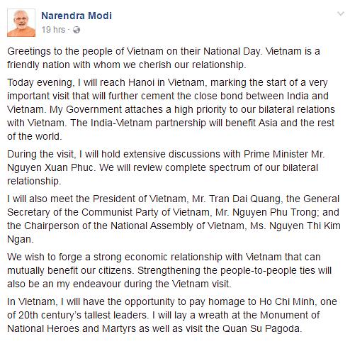"(Photo Courtesy: <a href=""https://www.facebook.com/narendramodi/photos/a.10150164299700165.421791.177526890164/10157482794080165/?type=3&amp;theater"">Facebook/Narendra Modi</a>)"