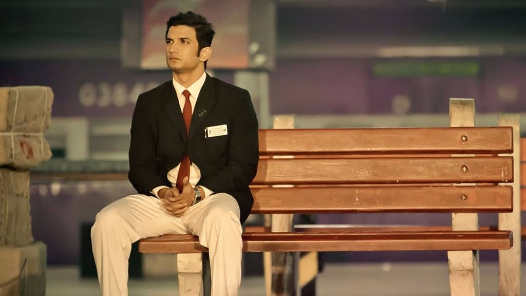 Sushant Singh Rajput in a scene from <i>MS Dhoni: The Untold Story.</i> (Photo courtesy: Twitter)