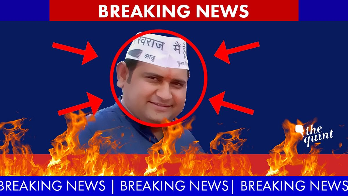 Encircles and targeted: AAP MLA Sandeep Kumar claims its not him in the leaked sex tapes. (Photo: <b>The Quint</b>/Hardeep Singh)