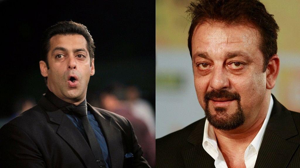 Salman Khan and Sanjay Dutt. (Photo: Reuters)