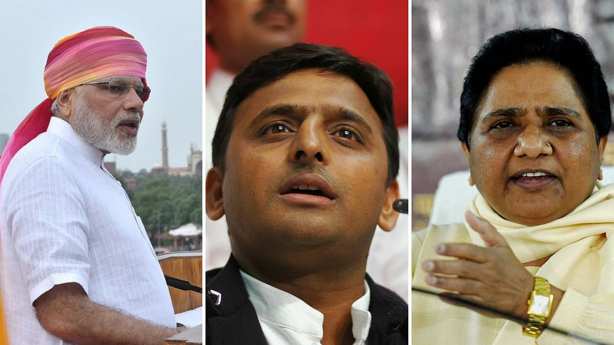Who will win the 2017 UP polls? (Photo: <b>The Quint</b>)