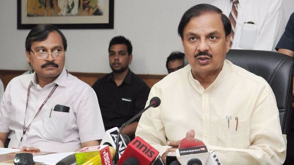 Union minister Mahesh Sharma is clearly not the problem, but merely a symptom of the problem of the general subjugation of women. (Photo: IANS)