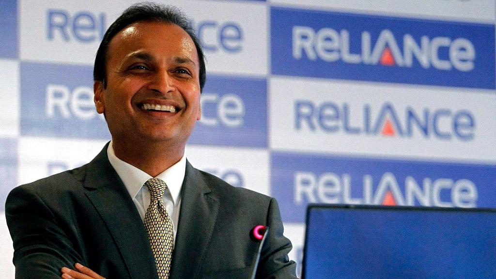 l Ambani, chairman of the Reliance Anil Dhirubhai Ambani Group during a news conference in Mumbai.&n