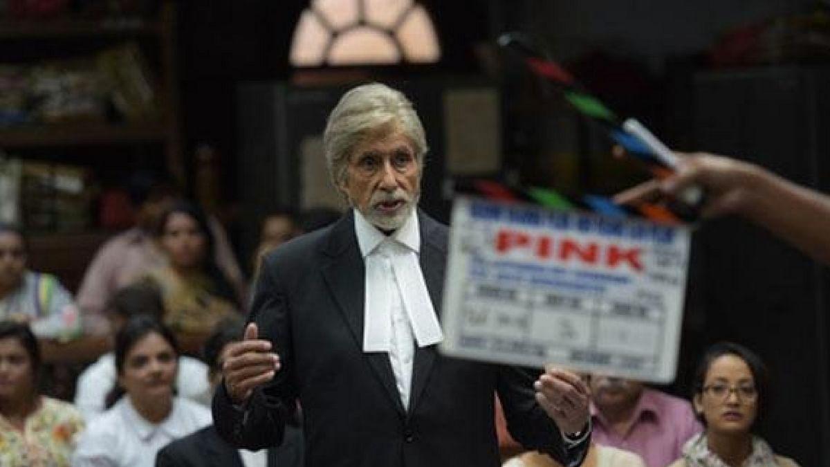 "Amitabh Bachchan in a still from his upcoming film <i>Pink. (</i>Photo Courtesy: <a href=""https://twitter.com/zeecinema"">Twitter/@zeecinema</a>)"