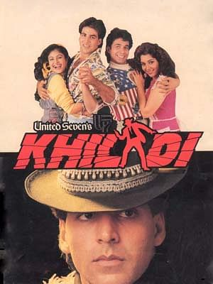 Akshay Kumar in the poster of <i>Khiladi</i>.&nbsp;