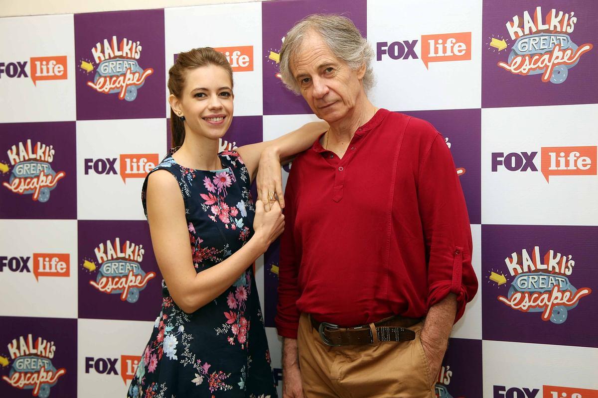 The father-daughter Koechlin duo. (Photo Courtesy: Fox Life)