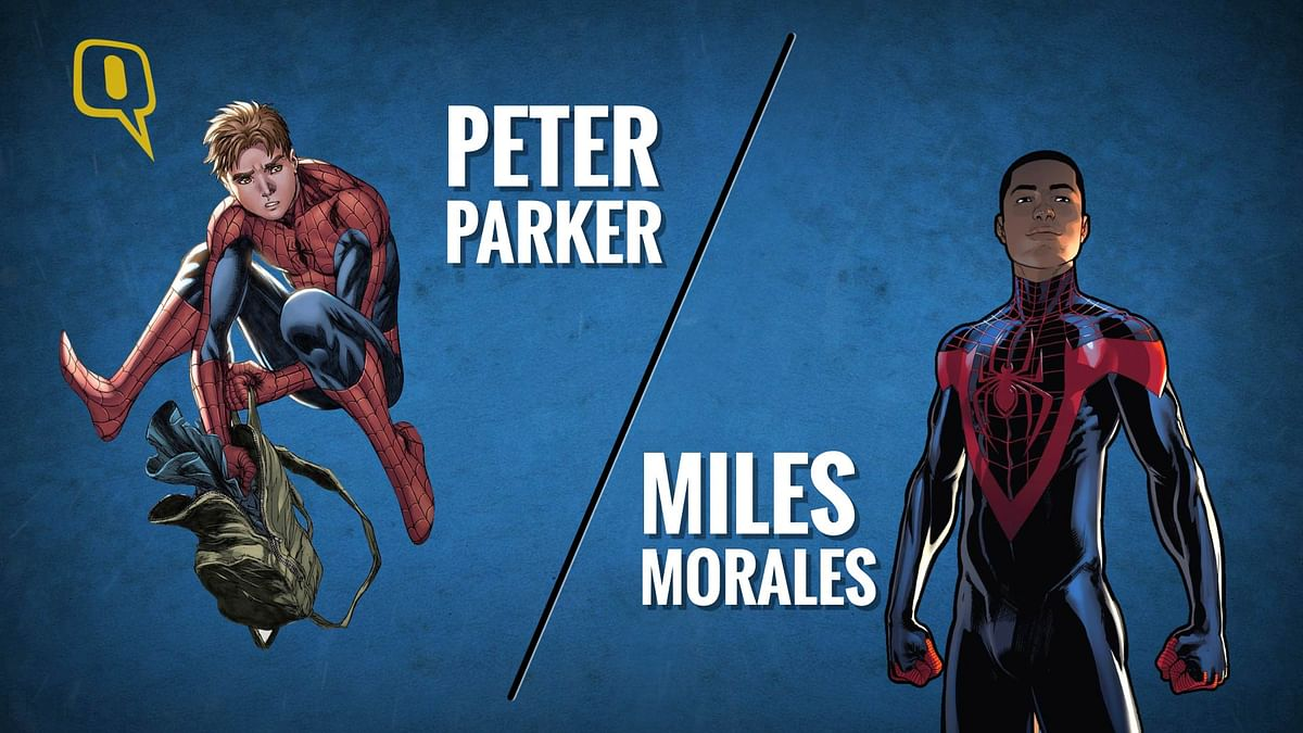 Miles Morales is the new 'Spidey' in town.