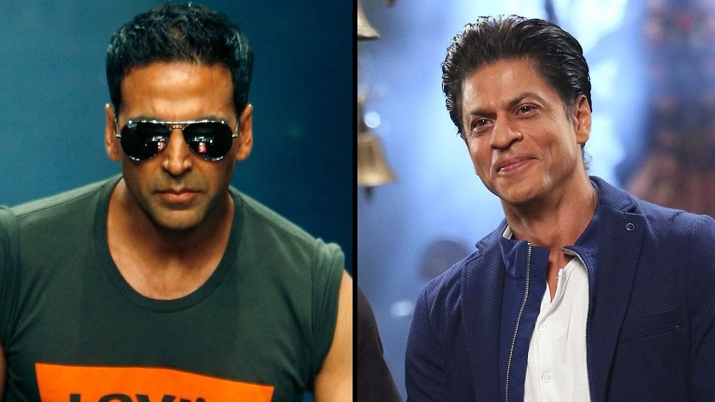 Akshay Kumar and Shah Rukh Khan join the list of world's highest paid actors. (Photo: The Quint)