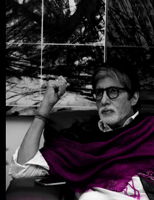 """Amitabh Bachchan is very excited for his upcoming film<i> Pink. </i>(Photo Courtesy: Twitter/<a href=""""https://twitter.com/SrBachchan"""">@SrBachchan</a>)"""