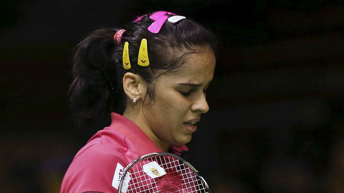 Saina Nehwal was eliminated in the preliminary rounds due to an injury she was carrying. (Photo: Reuters)