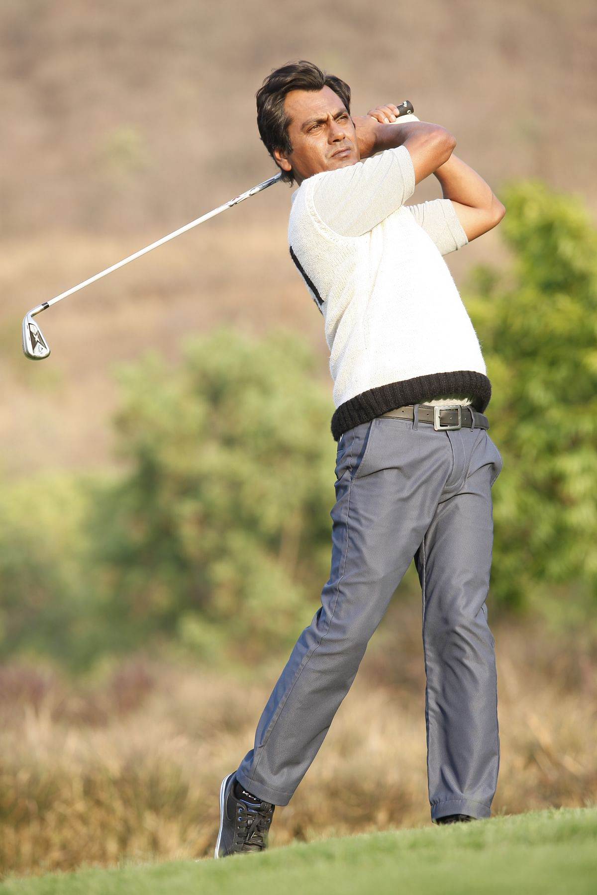 Nawazuddin Siddiqui makes for a suave golfer in<i> Freaky Ali. (</i>Photo Courtesy: Sohail Khan Productions)&nbsp;