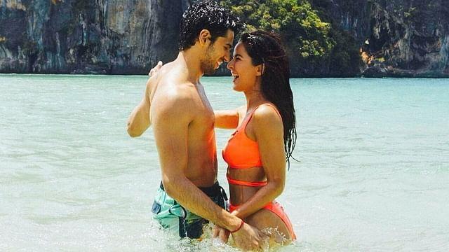 Sidharth Malhotra and Katrina Kaif in a still from <i>Baar Baar Dekho.&nbsp;</i>