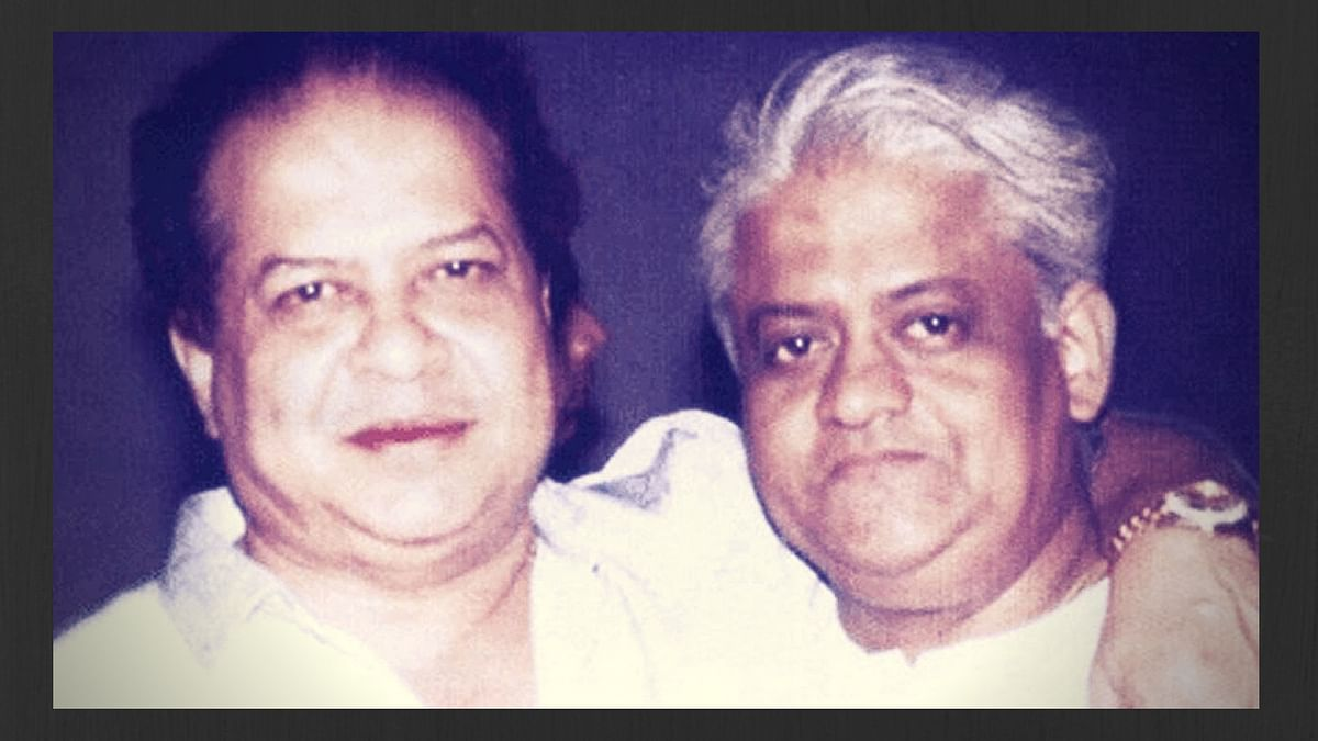 Singing along with Laxmikant-Pyarelal's best numbers on Pyarelal's birthday.