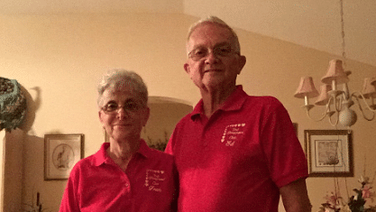 Anthony's grandparents match clothes everyday (Photo Courtesy: Twitter/ Anthony Gargiula)