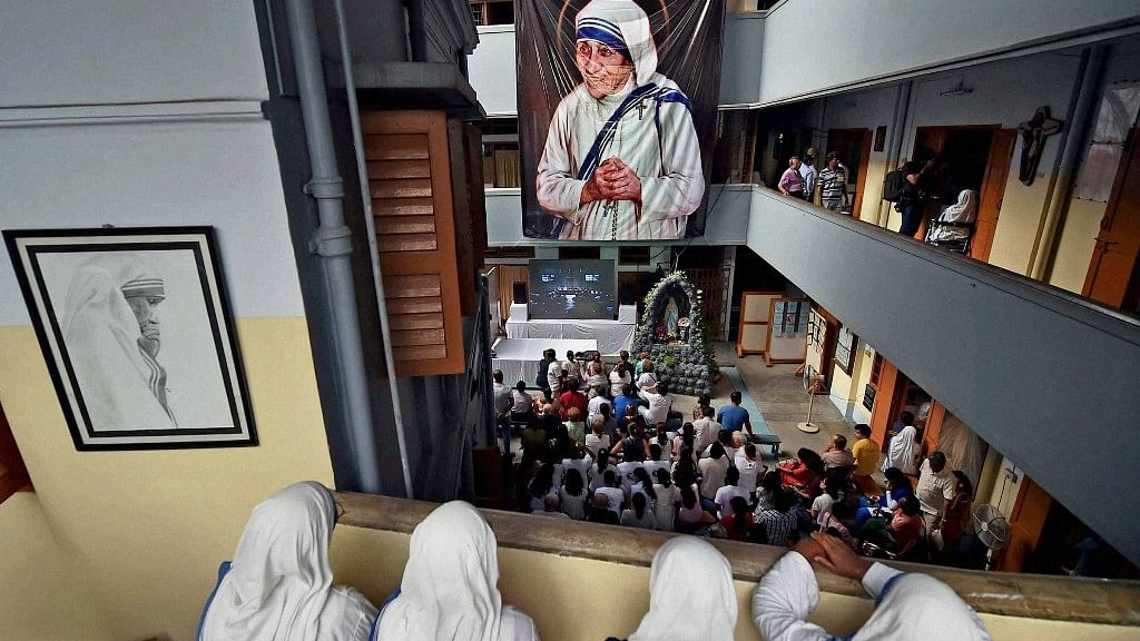 Mother Teresa lived for 44 years in the Mother House in Kolkata. She died on 5 September 1997. (Photo: PTI)