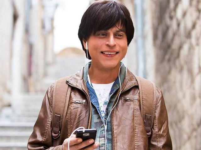 SRK in a still from <i>Fan</i>. (Photo Courtesy: YRF)