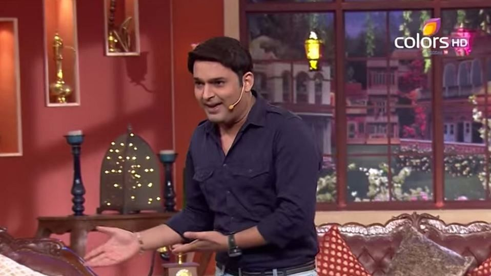 """Comedian Kapil Sharma had accused an unknown BMC official of seeking bribe. (Photo Courtesy: YouTube/<a href=""""https://www.youtube.com/channel/UCyfkoMQeJOoEt3ZhY3PI6Uw"""">Comedy Nights With Kapil</a>)"""