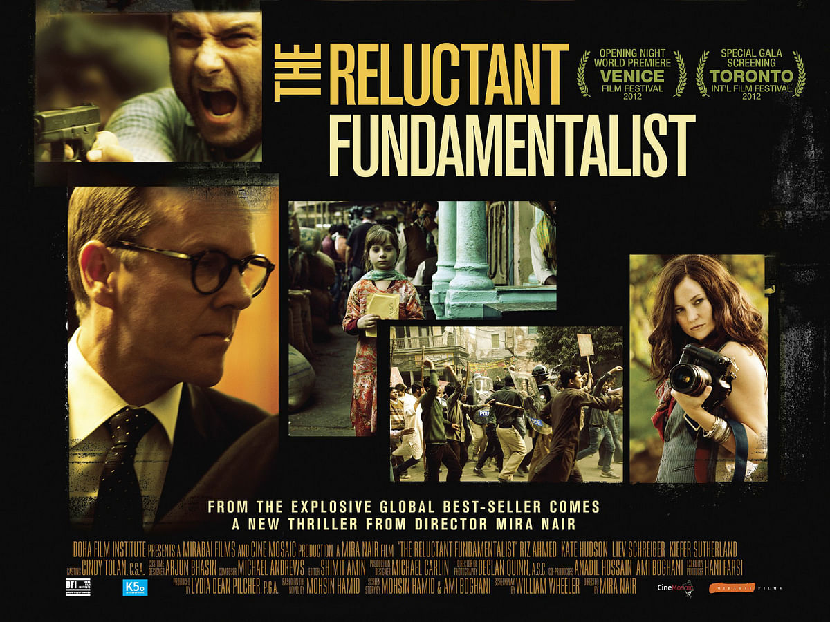 The official poster of Mira Nair's <i>The Reluctant Fundamentalist.</i>&nbsp;