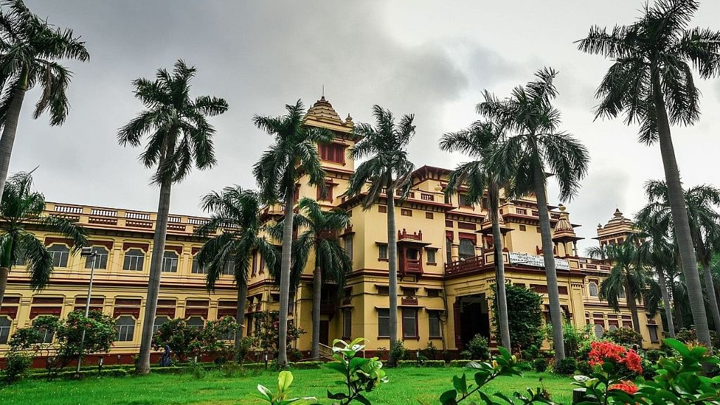 Central Library, Benares Hindu University (BHU). (Photo Courtesy: Wikimedia Commons)