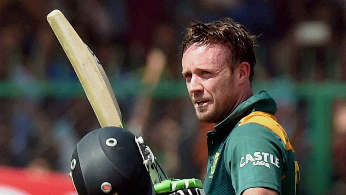 AB de Villiers. (Photo: Reuters)