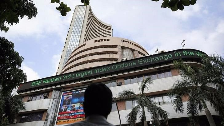 """Indian shares fell several points after a combination of weak Chinese export data and talks of a US Federal Reserve rate hike coming """"relatively soon"""", spooked investors. (Photo: Reuters)"""
