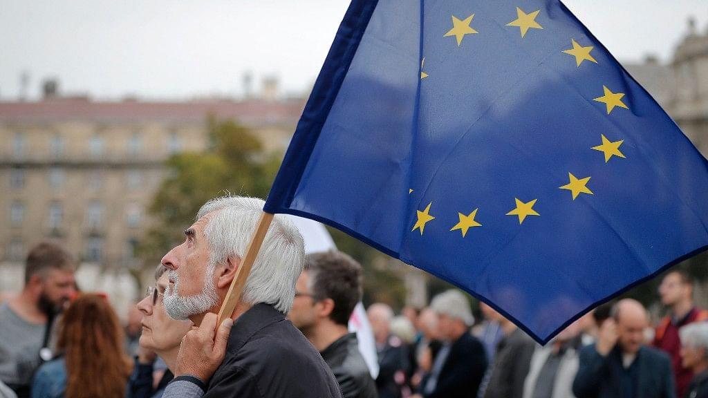 Flag of the European Union. (Photo: AP)