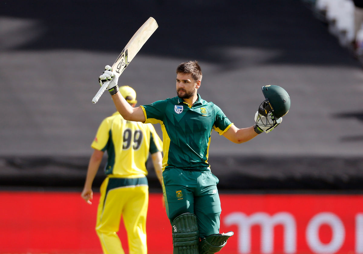 Rilee Rossouw's 122 and JP Duminy's 73 set up South Africa's big total. (Photo: AP)