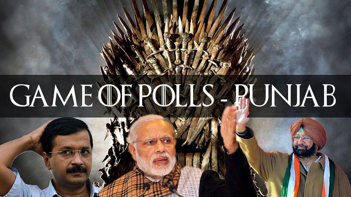 The opinion poll gave the Congress 49 to 55 seats, while the AAP got 42 to 46 seats. (Photo: <b>The Quint</b>)