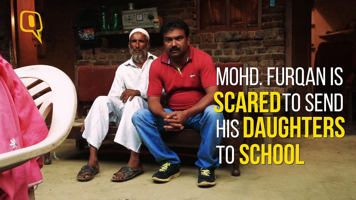 Mohd. Furqan has decided to not let his daughters attend school, after a few boys harassed her, and let to a riot.