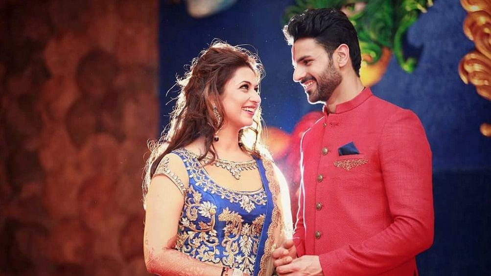 'Yeh Hai Mohabbatein' actor Divyanka Tripathi with her husband Vivek Dahiya.